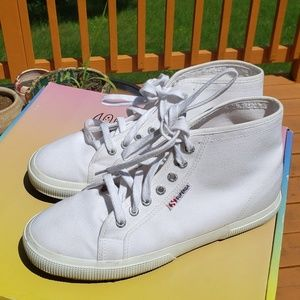 Superga hightop sneakers